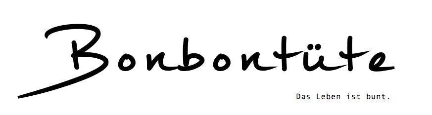 Bonbontüte - Das Leben ist bunt.