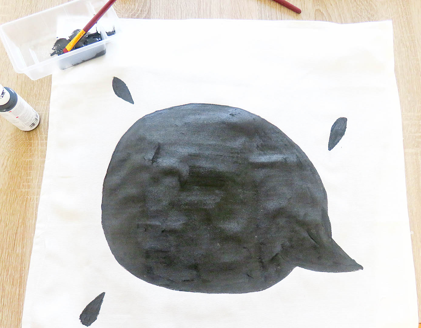 Kissen-Tafelfarbe