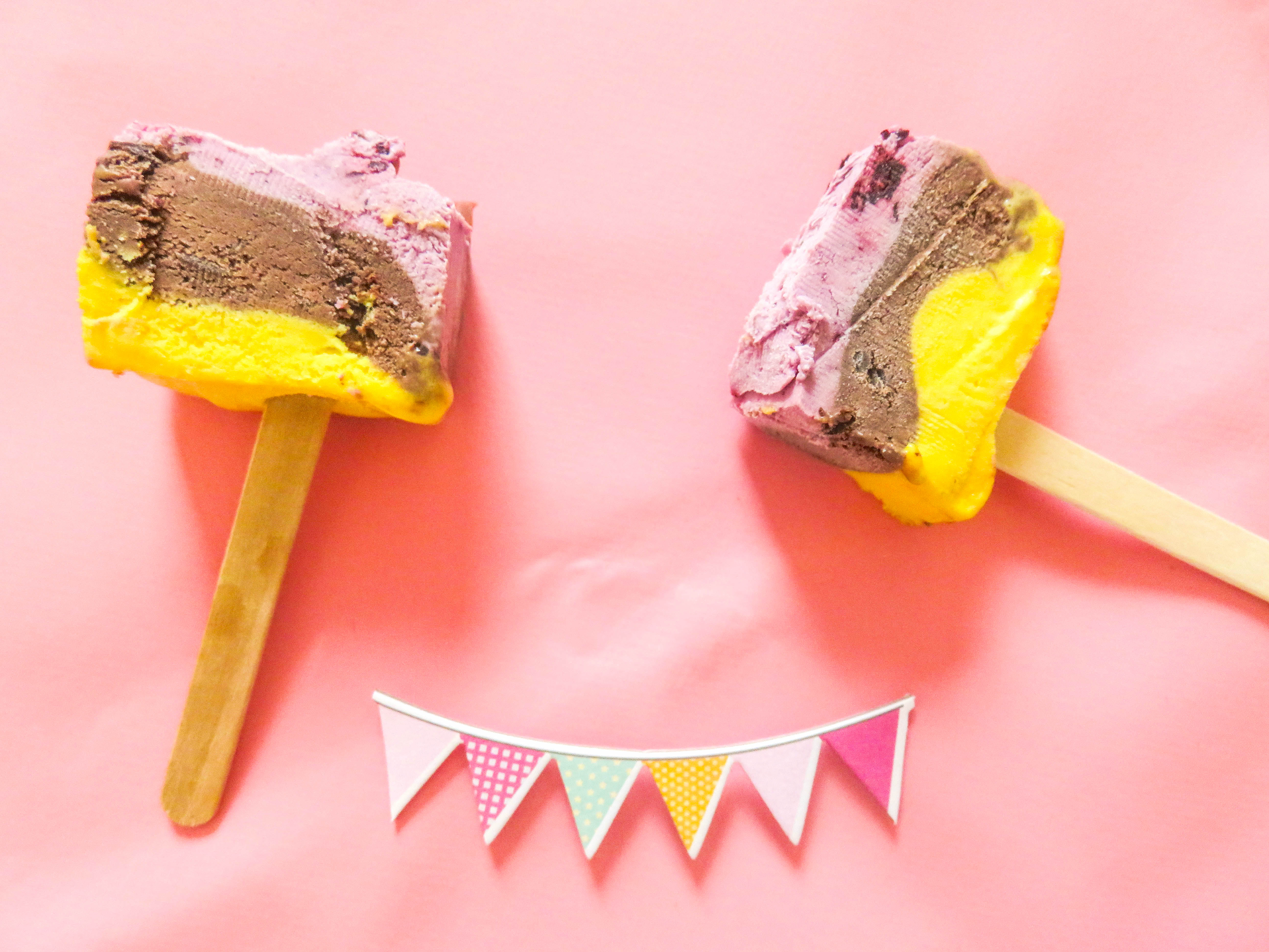 Supermark Ice Cream Cake