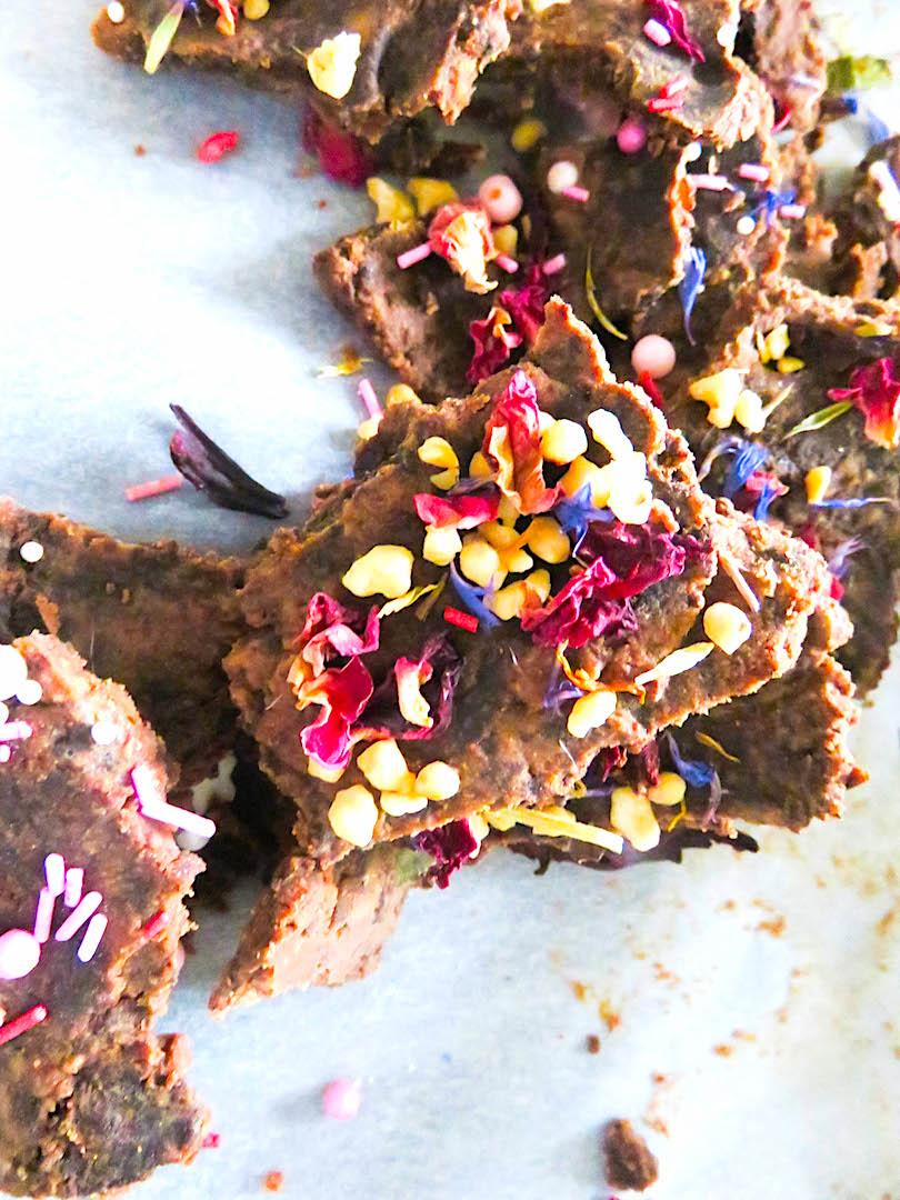 schokolade-essblüten