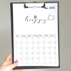 Kalender-Printable