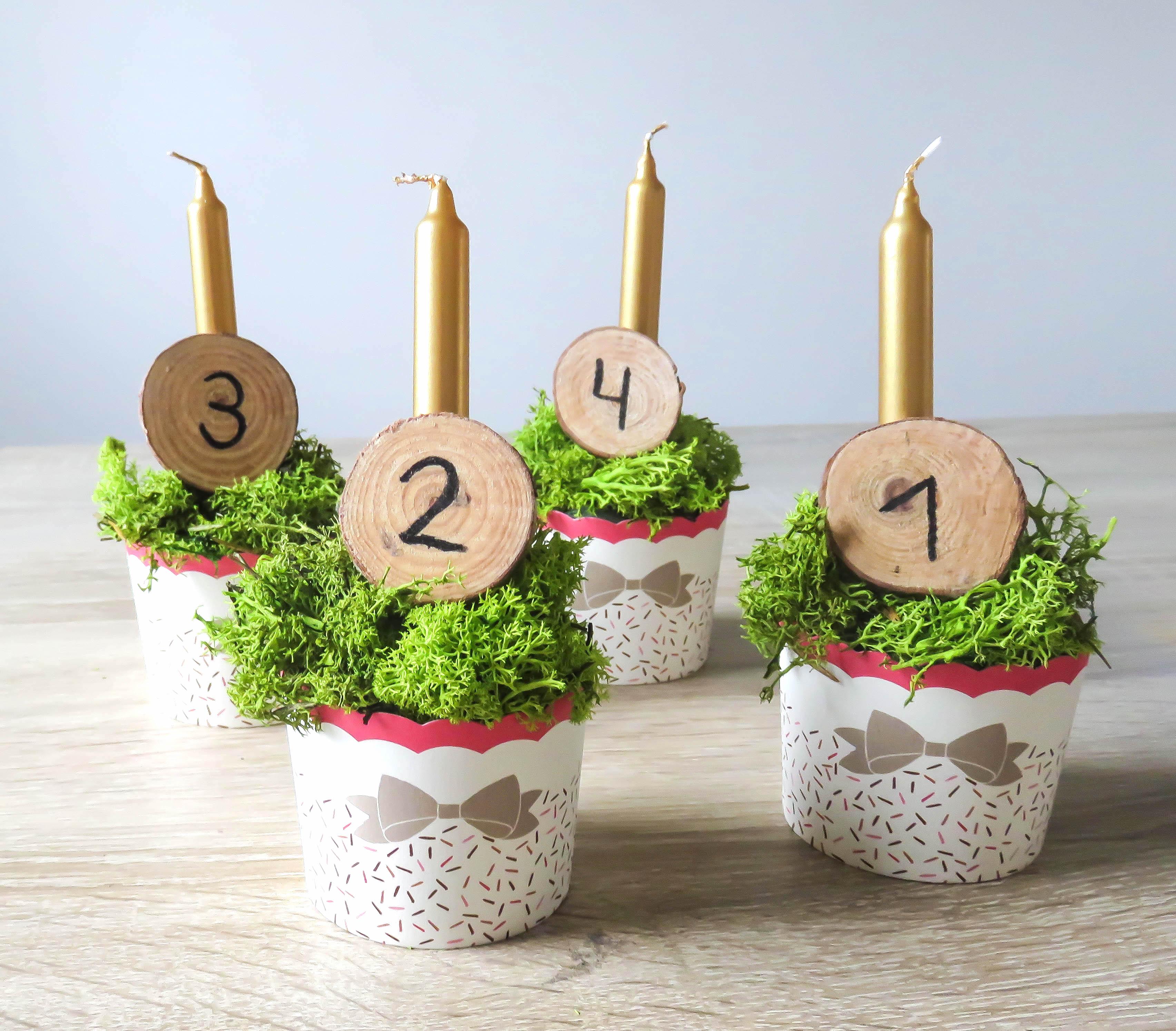 adventskranz-cupcake