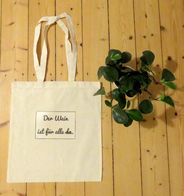 Einkaufstasche-Statement