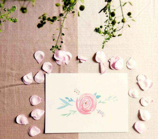 Poster-floral