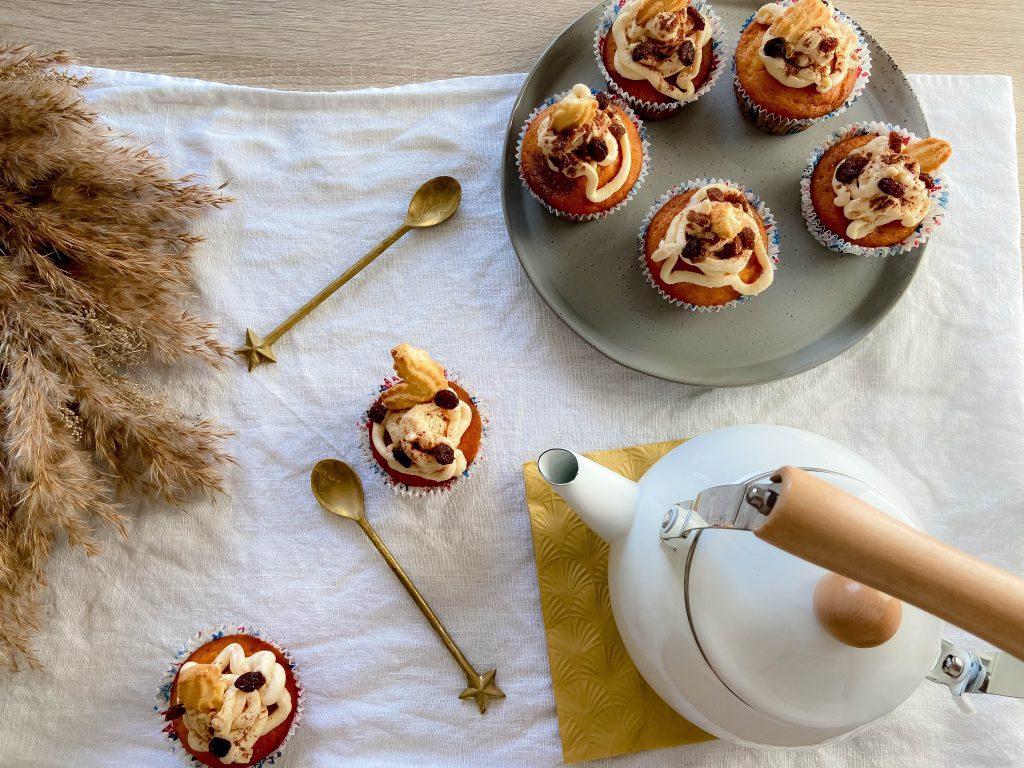 Bratapfelcupcakes